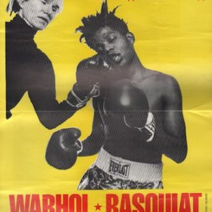 WARHOL, Andy and BASQUIAT, Jean Michel. Warhol and Basquiat Paintings.