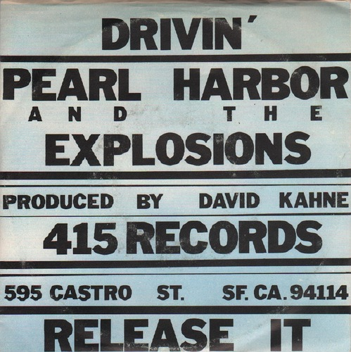 Pearl Harbor and the Explosions. Drivin'