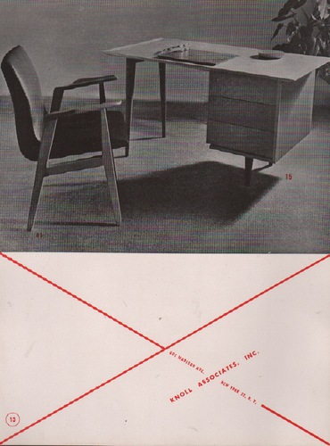 Matter herbet knoll associates catalogue for Knoll associates