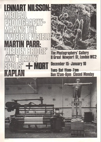 PARR, Martin and NILSSON, Lennart.'Hebden Bridge' and 'Beauty Spots' / Medical Photography - Making the Invisible Visible.