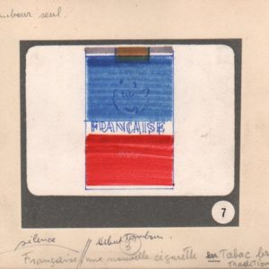"CHATELAIN, Maurice. Cigarettes ""Francaise""."