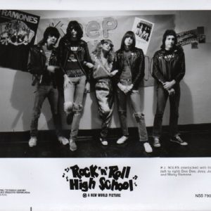 The Ramones. Rock 'n' Roll High School.