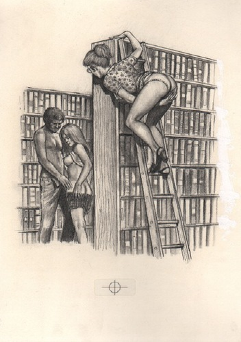 JACOBS, Mark. The Lusty Librarian.