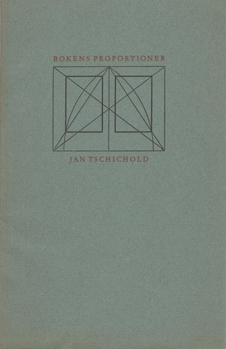 TISCHICHOLD, Jan. Bokens Proportioner.