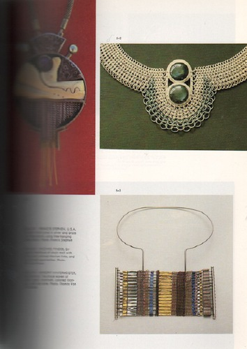 UNTRACHT, Oppi. Jewelry: Concepts and Technology.