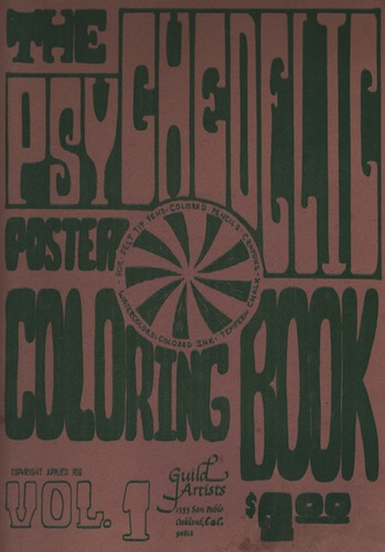 The Psychedelic Poster Colouring Book.