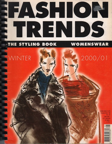 SONNENBERG, Martia and Heinz SOMMERMEYER.Fashion Trends Styling Book.