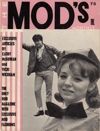 BURNS, Mark.The Mods Monthly.