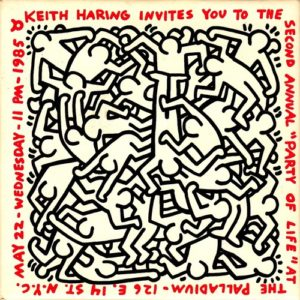 HARING, Keith. Second Annual Party of Life.