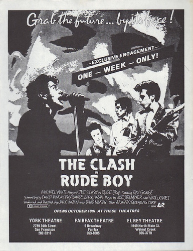 [The Clash] Rude Boy.