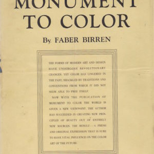 BIRREN, Faber.Monument to Color.