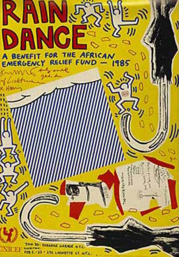HARING, Keith and others.Rain Dance.