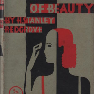 REDGROVE, H. Stanley. The Cream of Beauty.