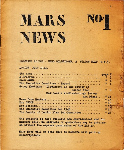 GOLDFINGER, Erno. Mars News