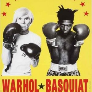 WARHOL, Andy and BASQUIAT, Jean Michel. Warhol & Basquiat: Paintings.