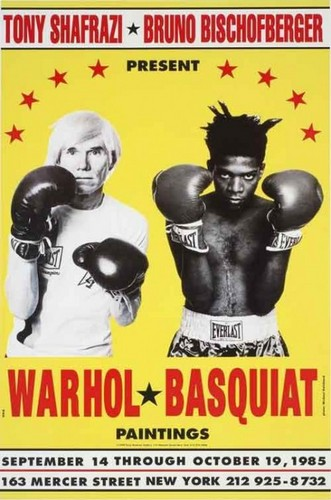 WARHOL, Andy and BASQUIAT, Jean Michel.Warhol & Basquiat: Paintings.