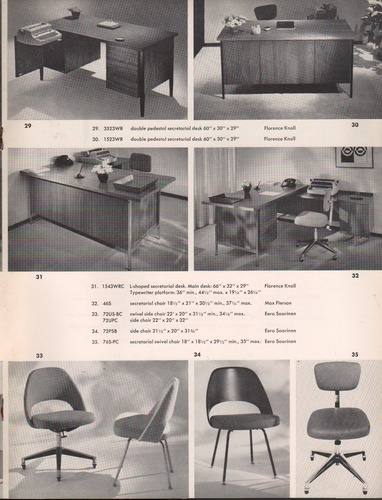 knoll associates design catalogue. Black Bedroom Furniture Sets. Home Design Ideas