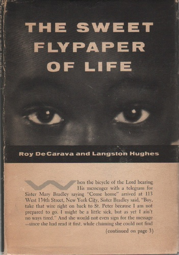 HUGHES, Langston and DeCARAVA, Roy.The Sweet Flypaper of Life.