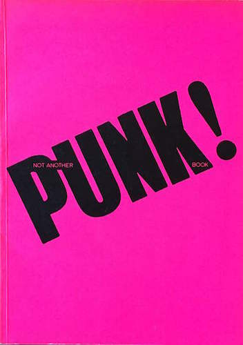 ANSCOMBE, Isabelle. not another PUNK! book.